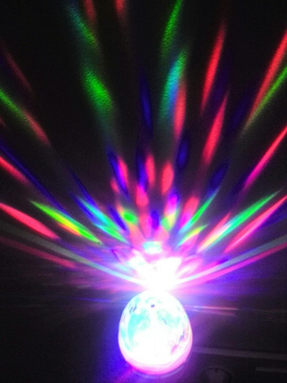 Диско лампа LY-399 (LED) світлодіодна