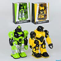 Робот-трансформер  607 /609, 2 вида, световые и звуковые эффекты, в коробке
