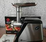 Мясорубка электрическая бытовая Rainberg RB-672 электромясорубка с насадками для дома, фото 3