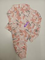 Тепла піжама з мікрофлісу для дівчаток від Primark.