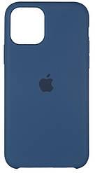 Чохол Apple iPhone 11 Pro Silicone Case (HC) Cosmos Blue
