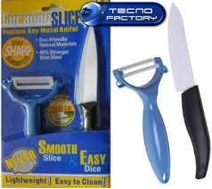 Кухонные ножи и подставки 2 в 1 Ceramic Slice