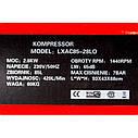 Безмасляный бесшумный компрессор LEX LXAC85-28LO - емкость 85 литров, фото 4