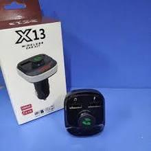 Автомобільний фм модулятор / fm трансмітер X13, 2 usb + гучний зв'язок, Bluetooth