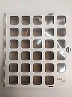 Коробка для конфет, пряников, печенья, сладостей из ДВП на 30 штук