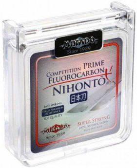 Леска Mikado Nihonto Fluorocarbon Prime 10 м 0.70 мм 24.20 кг Прозрачная , фото 2
