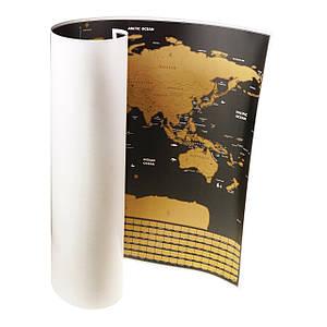 Скретч-карта мира Sky Черный (5795)