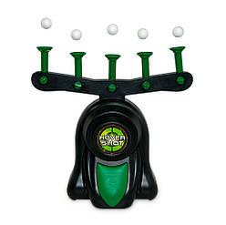 Воздушный домашний тир Hover Shot (Hover Target Game) стрельба по парящим шарикам, детский пистолет  (GK)