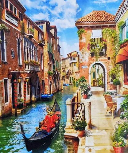 Картина по номерам 40х50 см DIY Венеция (NX 3954)
