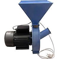 Электродробилка зернодробилка кормоизмельчитель «Лан» -2 (зерно + кукуруза), фото 1