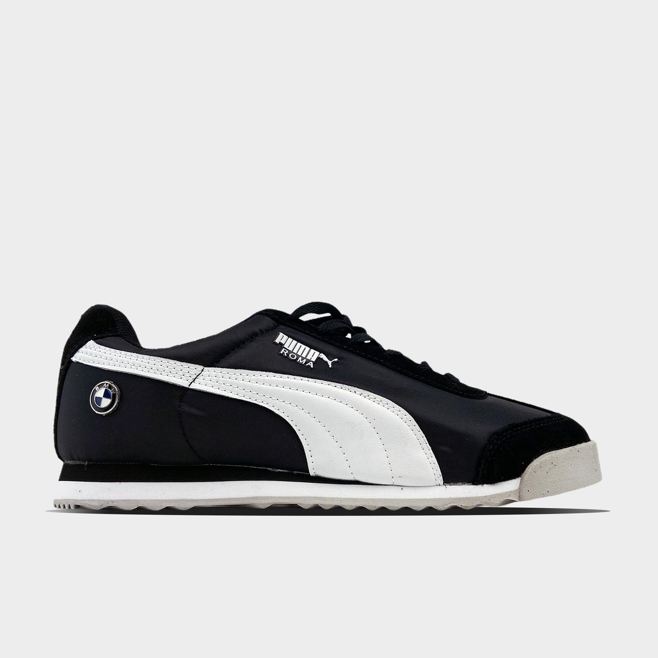 BMW x Puma Roma Black White (Чорний)