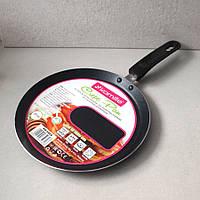 Сковорода блинная Kamille 24 см с антипригарным покрытием для индукции, фото 1