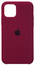 Чохол Apple iPhone 11 Pro Silicone Case (HC) Marsala