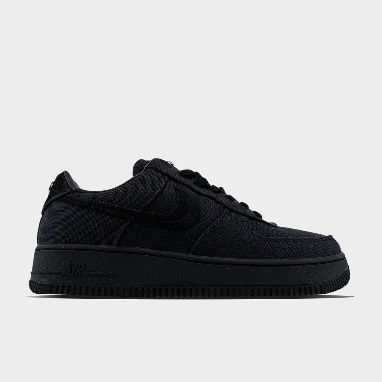Nike Air Force 1 Low Stussy Black (Чорний)
