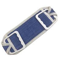 Губка банна vende 6001687 ручка пластмасова 36*12 см синій #S/H