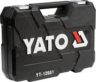 Профессиональный набор инструментов 94 предметов YATO YT-12681, фото 2