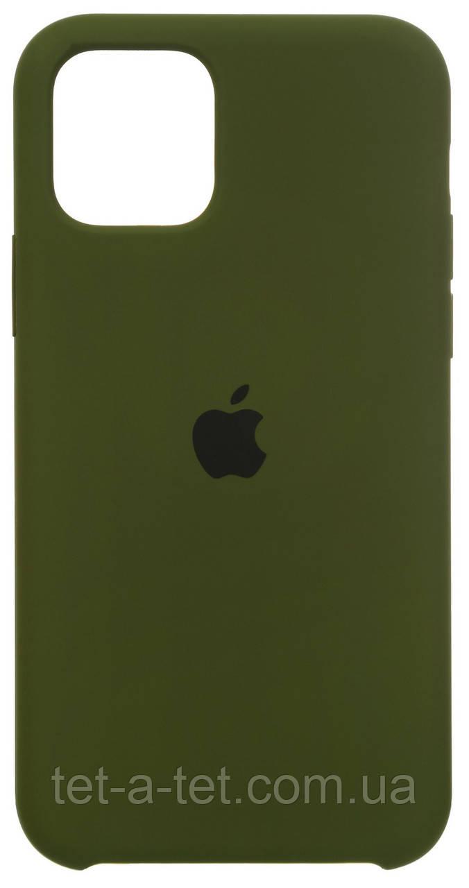 Чохол Apple iPhone 11 Pro Silicone Case (HC) Virid Green