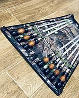"""Набор шампуров с деревянной ручкой """"Премиум"""" в чехле"""