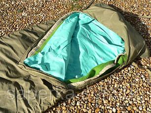 Спальный мешок армейский, военный. Оригинал Чехия бу, фото 3