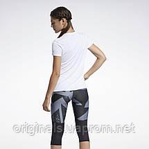 Женская футболка для бега Reebok Run Essentials Speedwick Graphic GJ6168 2021, фото 3
