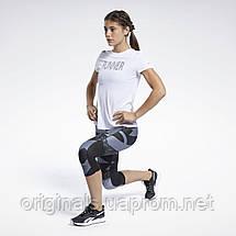 Женская футболка для бега Reebok Run Essentials Speedwick Graphic GJ6168 2021, фото 2