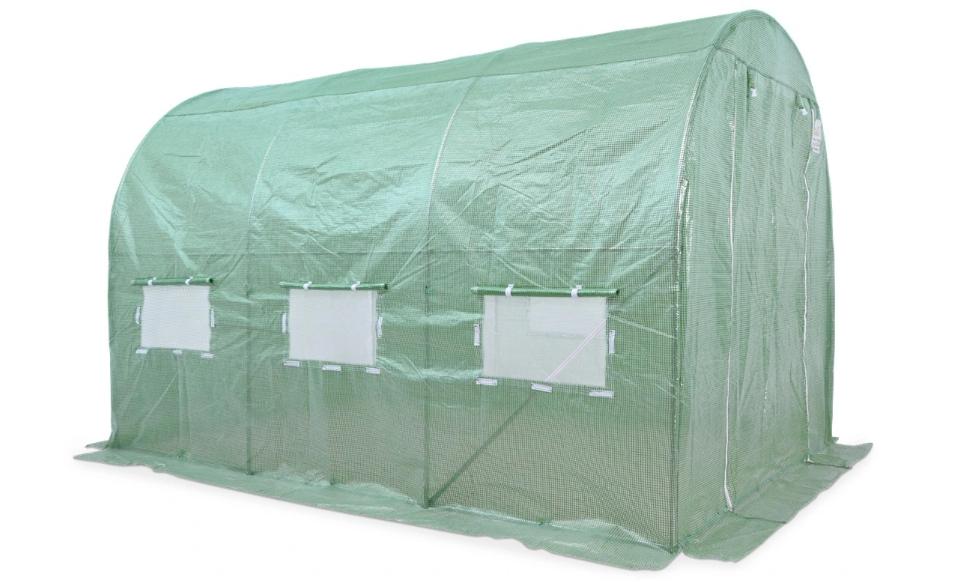 Теплица туннель 2x3x2 м зеленый Garden Tunnel Foil