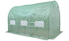Теплица садовая туннель 2x3x2 м зеленый Garden Tunnel Foil