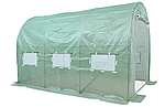 Теплица туннель 2x3x2 м зеленый Garden Tunnel Foil, фото 2