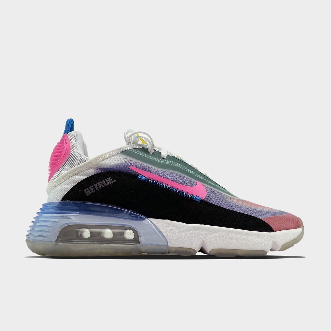 Nk, крос, обувь, взуття, sneakers, шузы, Air Max 2090 White Pink (Розовый)