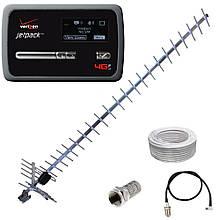 WiFi роутер 3G модем Novatel MiFi 4620L + антенна 24 дБ (дБи) + переходник + кабель
