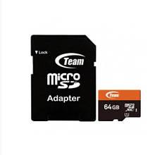 Карта Памяти Team Group Micro SD 10 Class 64 GB Черный