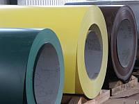 Рулон с полимерным покрытием RAL-6020