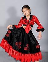 НА ПРОКАТ  Детский карнавальный костюм Цыганки, р.32-34