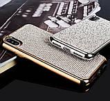Силиконовый чехол с камнями для Samsung Galaxy S7 (SM-G930F), фото 3
