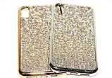 Силиконовый чехол с камнями для Samsung Galaxy S7 (SM-G930F), фото 5