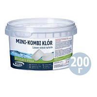 Таблетки для бассейна «MINI - хлор» Kerex 80033, хлорка для очистки воды, 200 г (Венгрия)