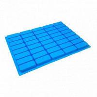 Силиконовая форма Кирпичики на 40 плиток 26х15х2 см