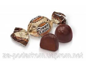 Цукерки шоколадні CREAM LATTE 1кг , ХБФ