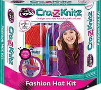 Набор для творчества серии Вязание Модная шапочка Cra-Z-Knitz с аксессуарами