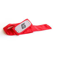 Налобная повязка Наруто красная