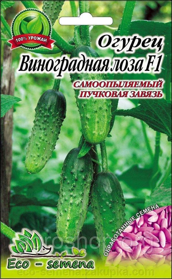 Семена Огурец Виноградная гроздь F1, 1г (самоопыляющийся)