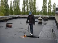 Укладка рубероида, ремонт крыши
