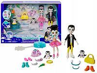 """Игровой набор Энчантималс """"Пингвины-фигуристы"""" Enchantimals Mattel GJX49"""