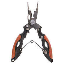 Ножницы для рыбалки Fishing ROI AL-4416A-B2 orange-black