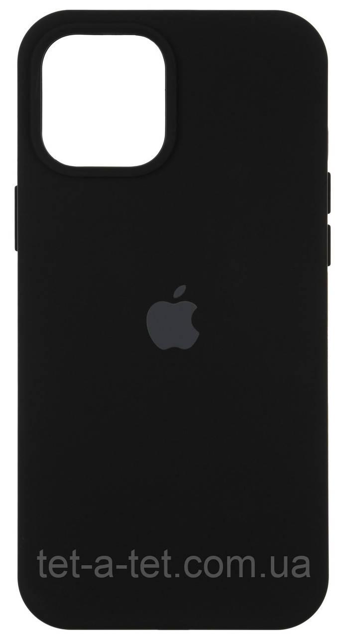 Чохол силіконовий Armorstandart Silicone Case для iPhone 12 | 12 Pro Black