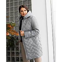 Куртка женская больших размеров на весну