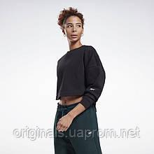 Реглан женский Reebok DreamBlend Cotton Midlayer GL2597 2021