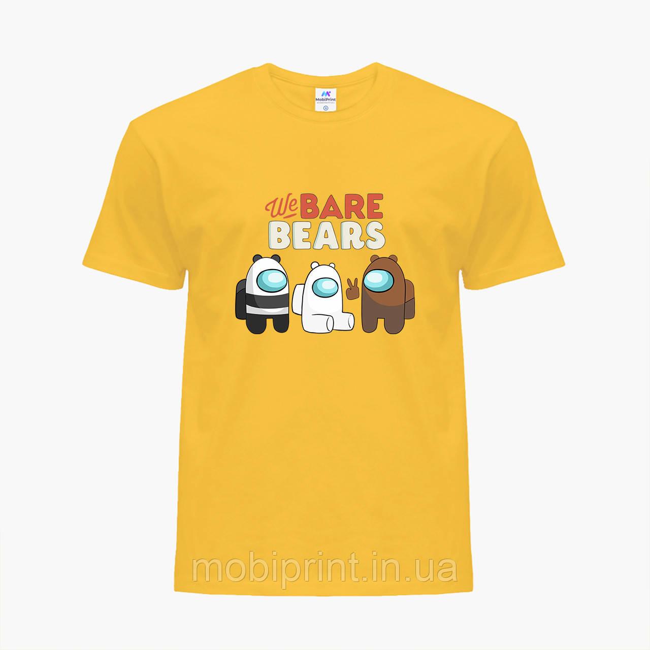 Детская футболка для мальчиков Вся правда о медведях (We Bare Bears) (25186-2668-SY) Желтый