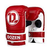 Снарядный перчатки Dozen Soft Pro Bag Gloves Red