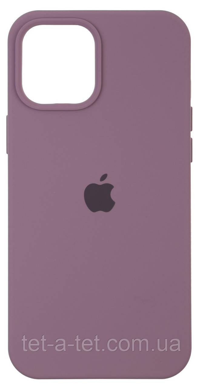 Чохол силіконовий Armorstandart Silicone Case для iPhone 12   12 Pro Grape